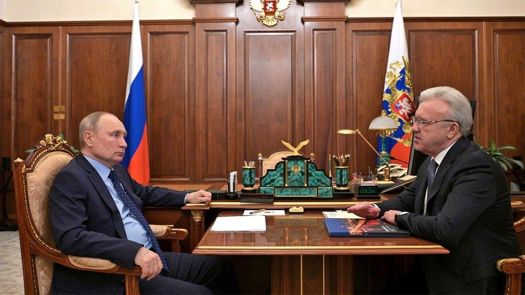 Губернатор Красноярского края доложил президенту России о ситуации с вакцинацией населения