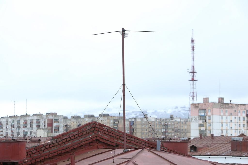 «Северный управдом» отремонтировал антенное оборудование в 27 подъездах Кайеркана