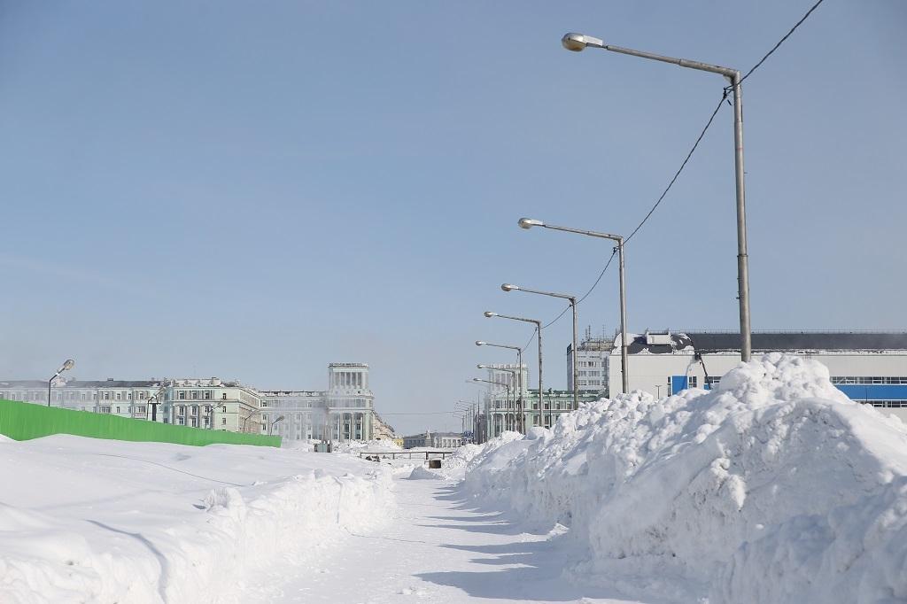 В 2021 году на текущий ремонт дорог в Норильске из местно- го бюджета выделено более 400 миллионов рублей