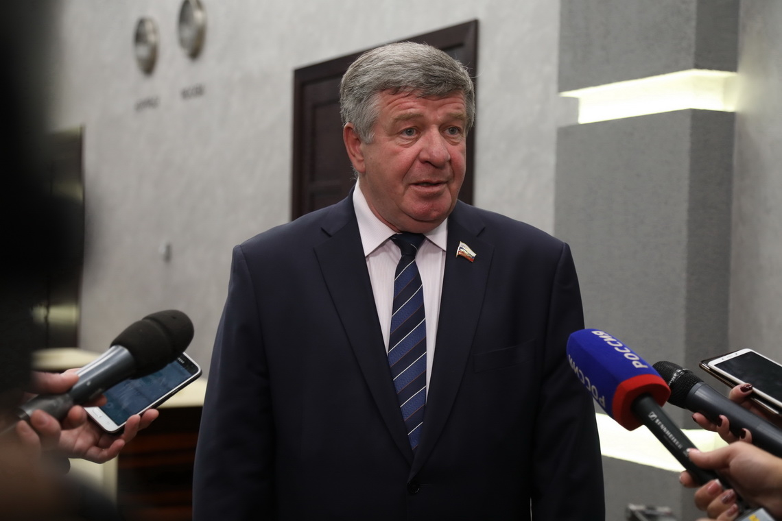 Сенатор от Красноярского края Валерий Семёнов — с рабочим визитом в Норильске