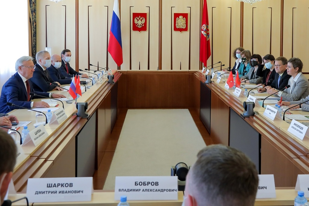 Швейцария заинтересована в сотрудничестве с Красноярским краем