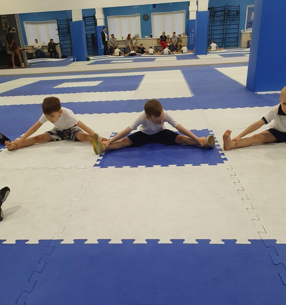 В клубе «Олимп» прошли клубные соревнования по общефизической подготовке «Геркулес»