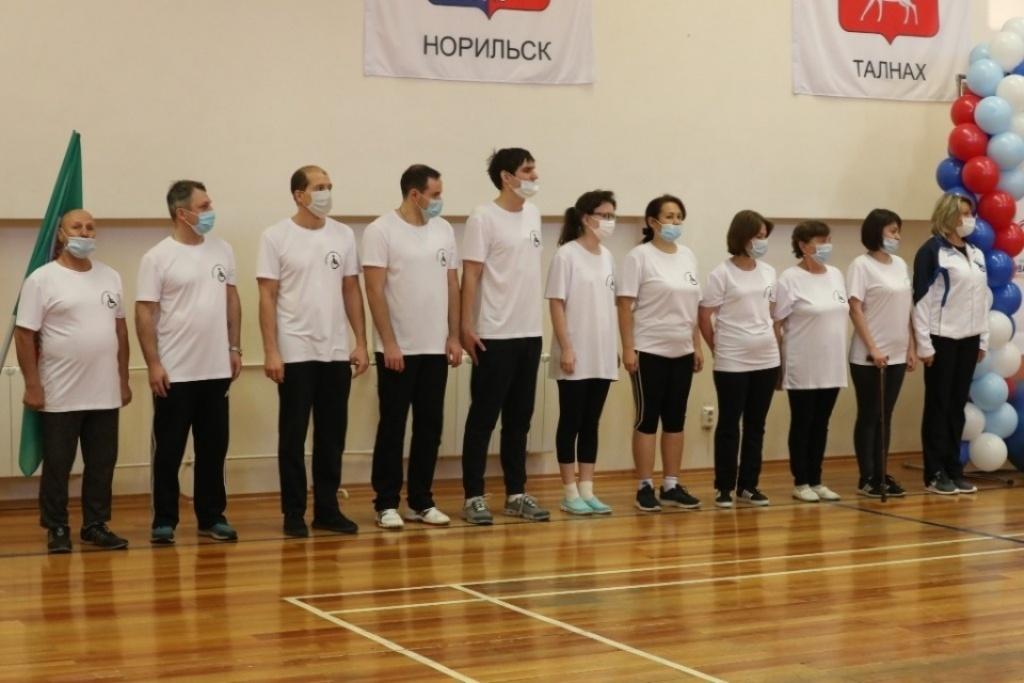 В Норильске определили победителей и призёров краевого фестиваля адаптивного спорта