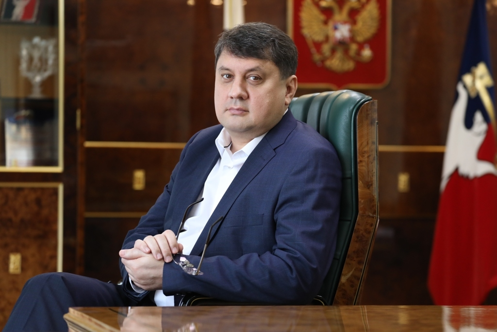 Обращение главы Норильска Рината Ахметчина по итогам голосования за Конституцию РФ