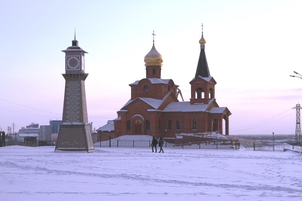 В столице Таймыра выставками отметили 250-летие Свято-Введенского храма