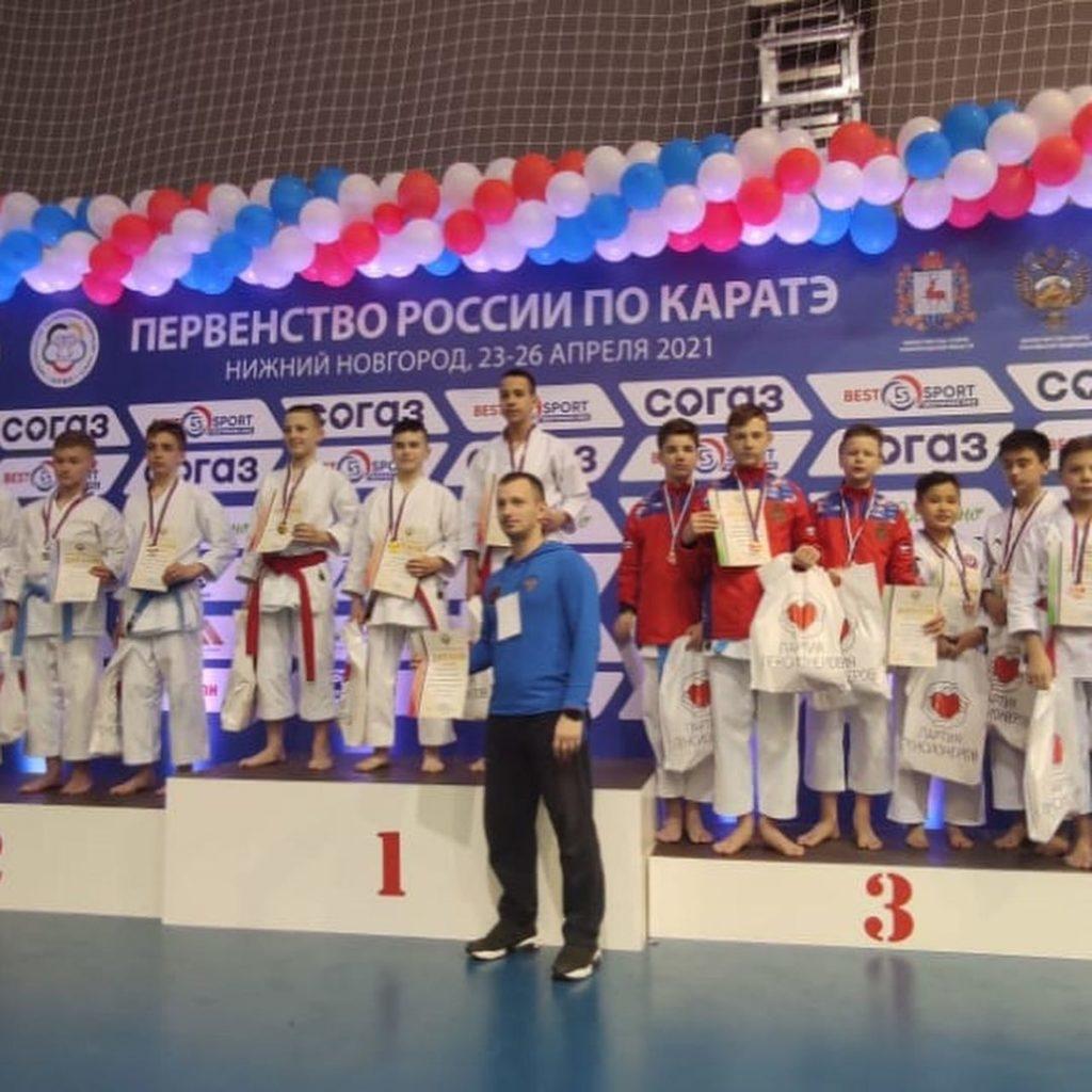 Норильчане стали призёрами первенства России по каратэ