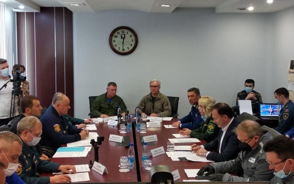 Два вертолета Ми-8 и самолет Ан-74 будут привлечены на время работы оперативного штаба по ликвидации ЧС в Норильске