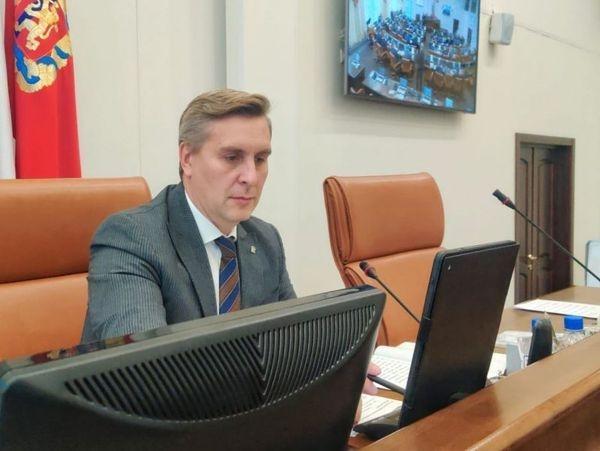 Председателем краевого Законодательного собрания стал Алексей Додатко