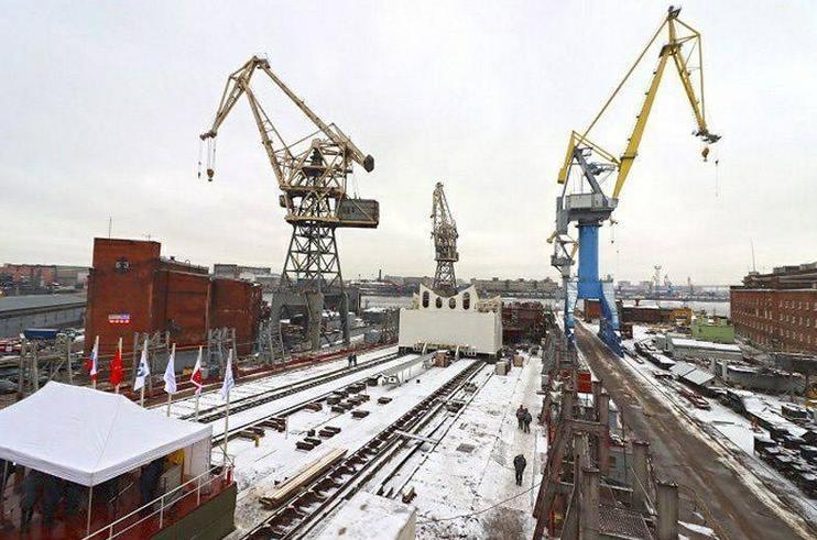 На Балтийском заводе заложили очередной атомоход – «Чукотка»