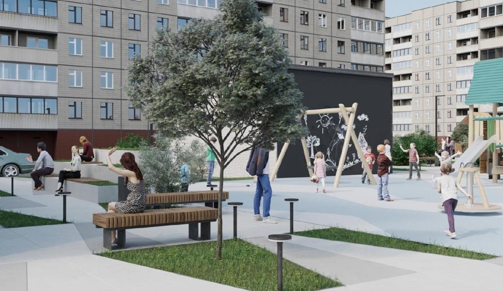 На Градостроительном совете одобрили обустройство территории у общего центра обслуживания «Норникеля» в Талнахе