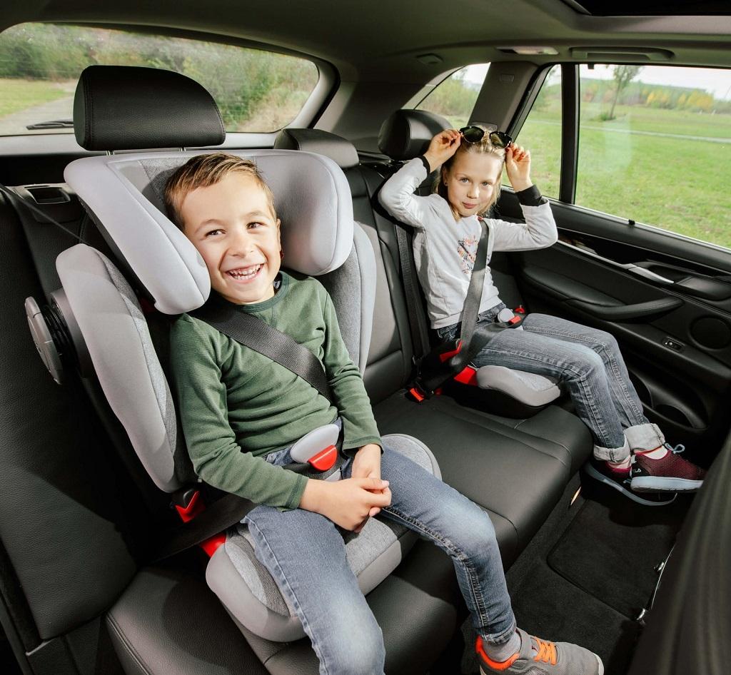 Помните о правилах безопасной перевозки детей в автомобиле