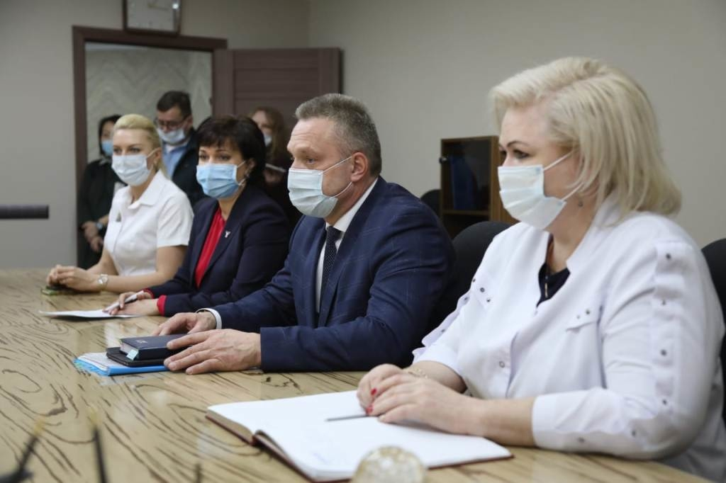 В Норильск с рабочим визитом прибыл заместитель министра здравоохранения края Александр Украинцев