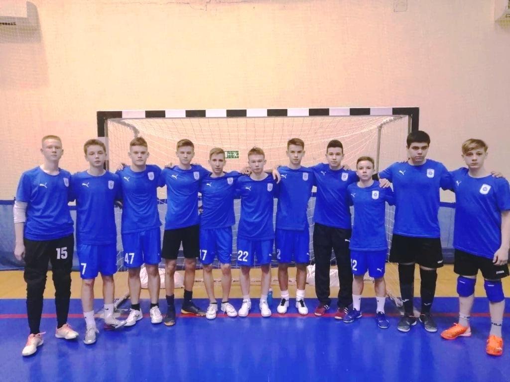 Заполярные юноши завершили цикл игр в новом сезоне юношеской Суперлиги U-16 по футзалу