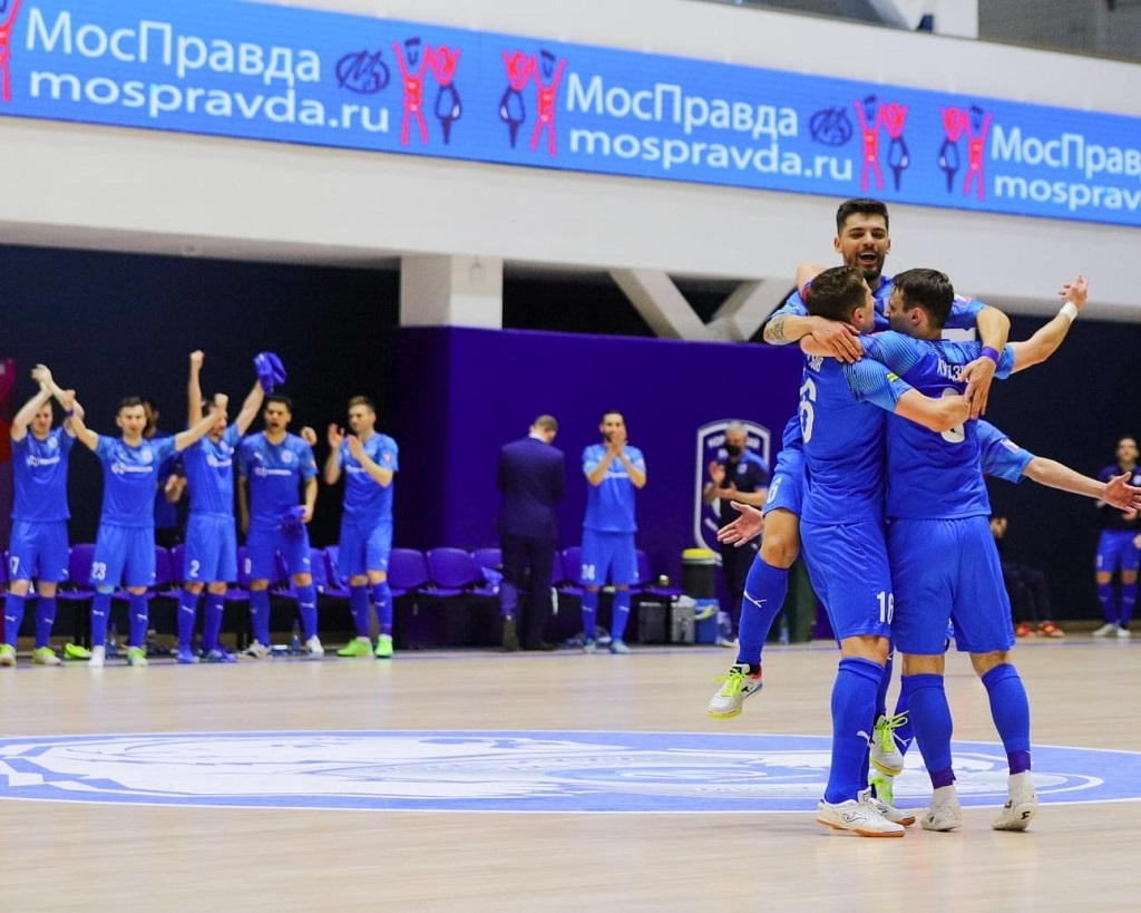 МФК «Норильский никель» одержал победу в первом матче четвертьфинальной стадии плей-офф Париматч-чемпионата России
