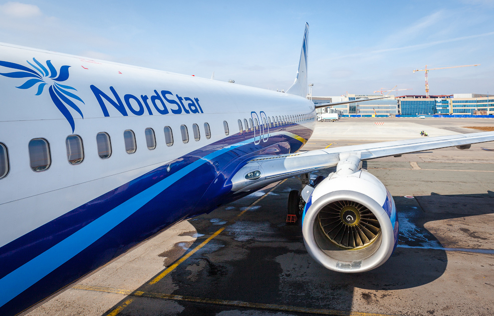 Авиакомпания NordStar выполняет полёты из аэропорта «Норильск» в полном объёме
