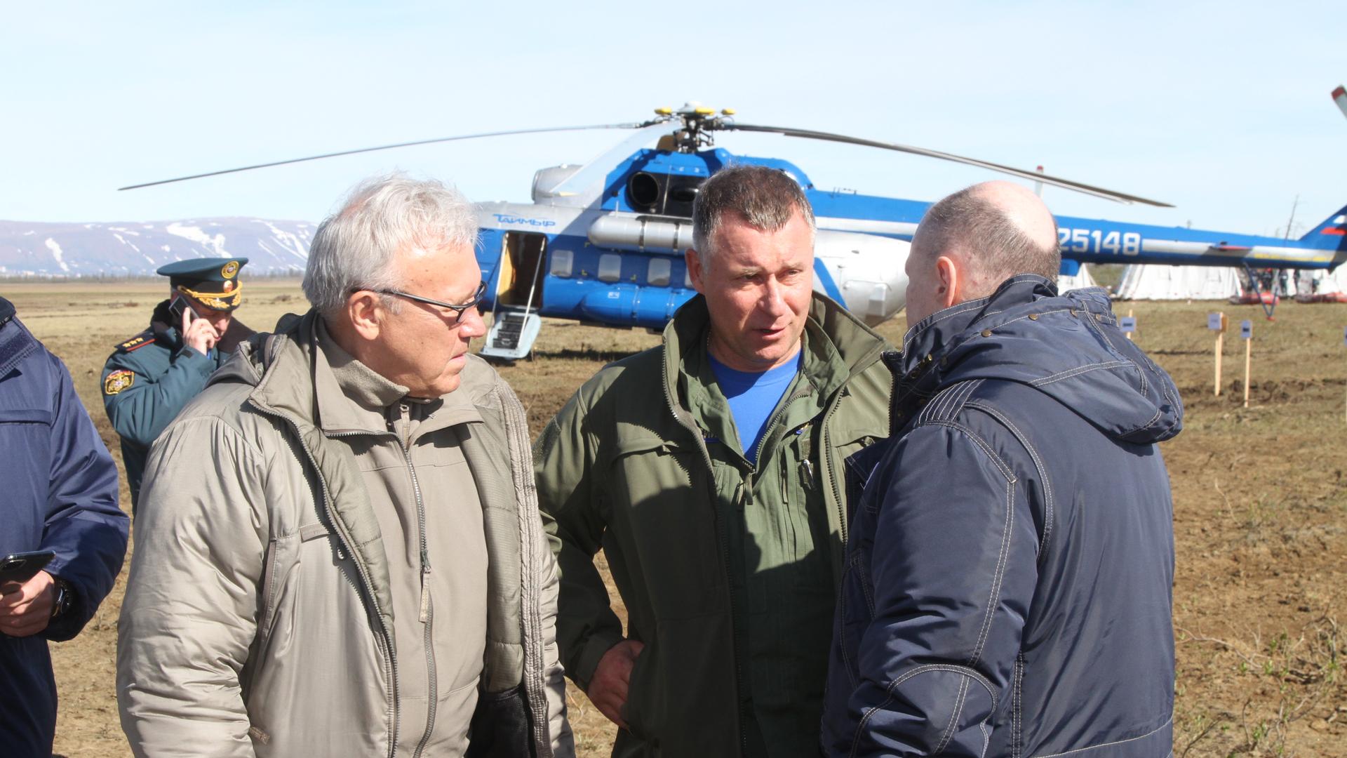 Евгений Зиничев доложил Владимиру Путину о локализации ЧС в Норильске
