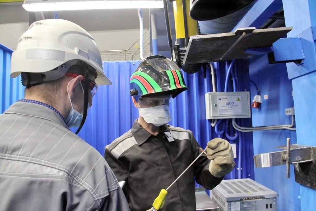 Конкурс профессионального мастерства среди газосварщиков «Норильскникельремонта» завершился