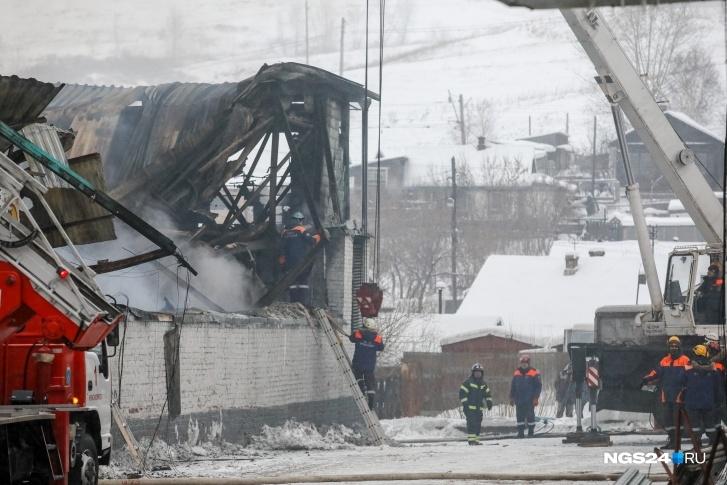 Пятницу, 5 февраля, в Красноярском крае объявят днём траура по погибшим пожарным