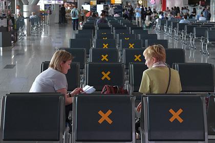 Россия продлила запрет на международные авиаперелёты