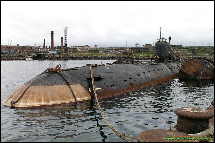 План подъёма атомных подводных лодок