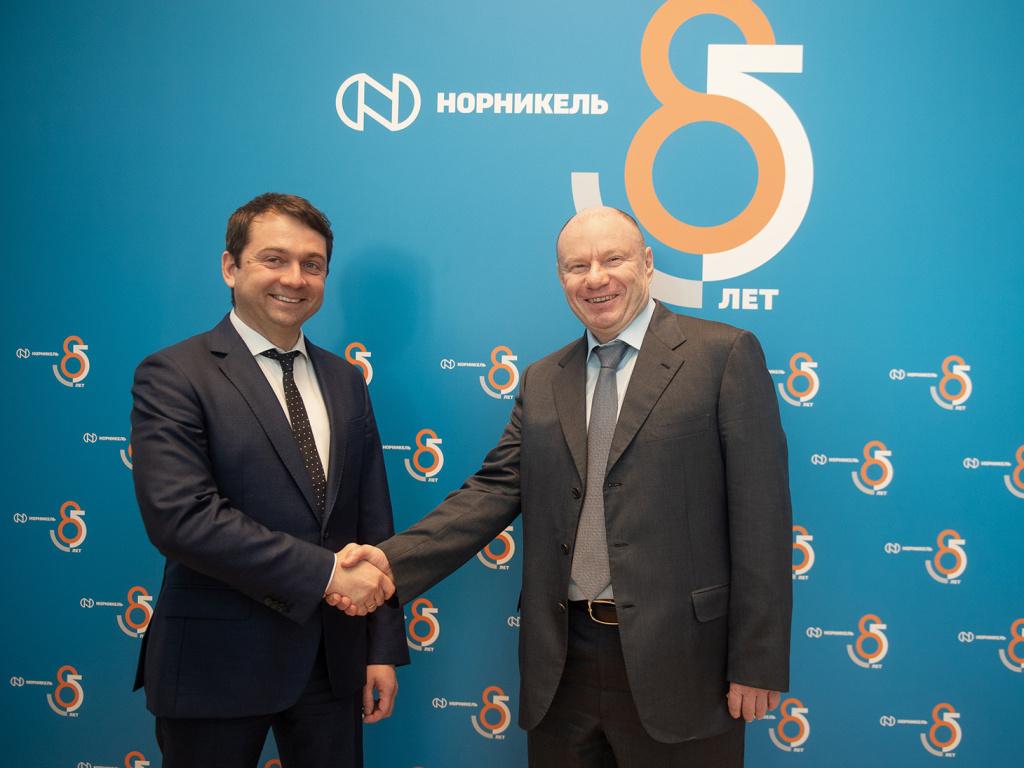 «Норникель» заключил соглашение о соцподдержке с Мурманской областью