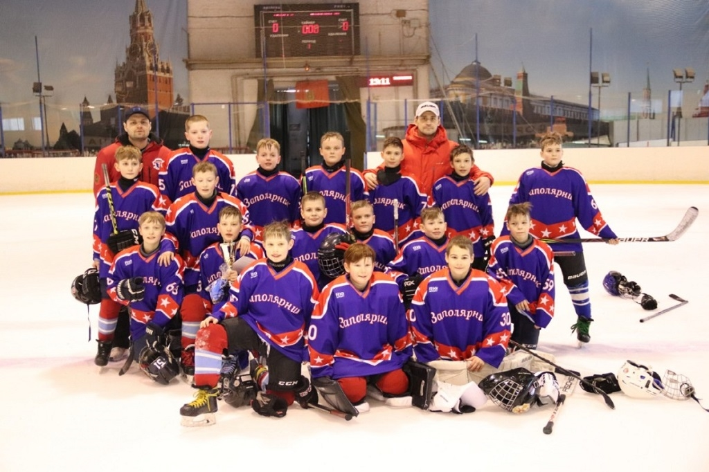 Юные норильские хоккеисты стали призёрами первенства Красноярского края