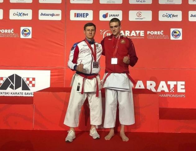 Алексей Нуркенов стал серебряным призёром чемпионата Европы по пара-карате