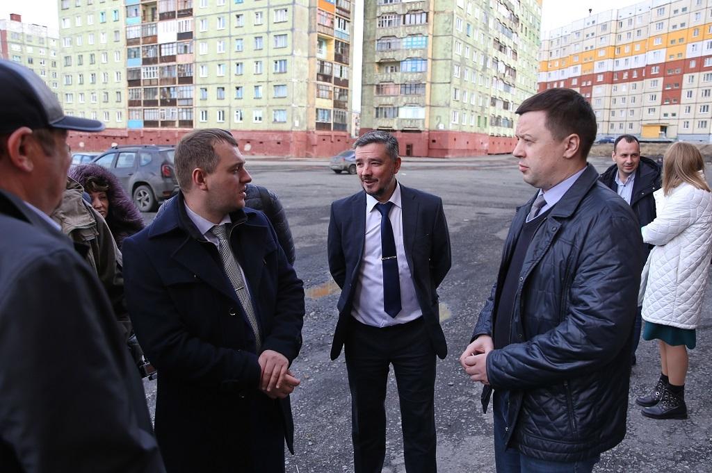 Два дня в Норильске работала группа специалистов краевого министерства промышленности, энергетики и ЖКХ
