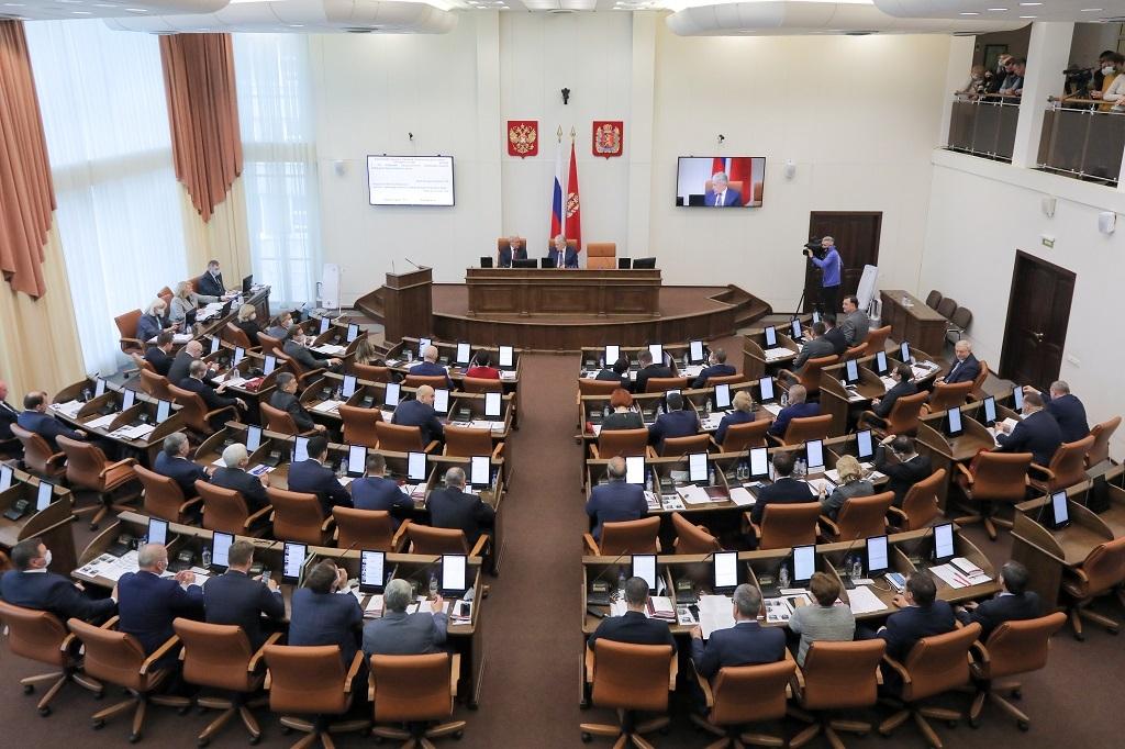 Губернатор Красноярского края обратился к новому созыву краевого Законодательного собрания