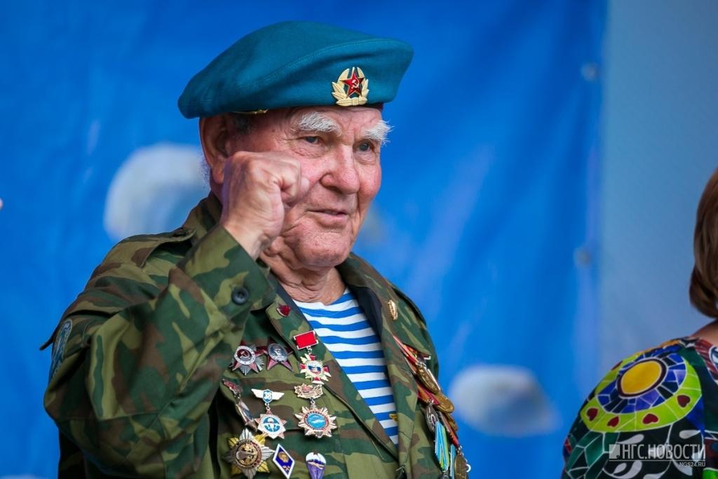Ушёл из жизни старейшей десантник России