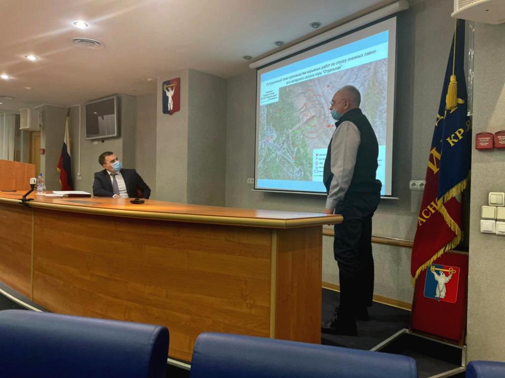 В Норильске прошло заседание комиссии по чрезвычайным ситуациям