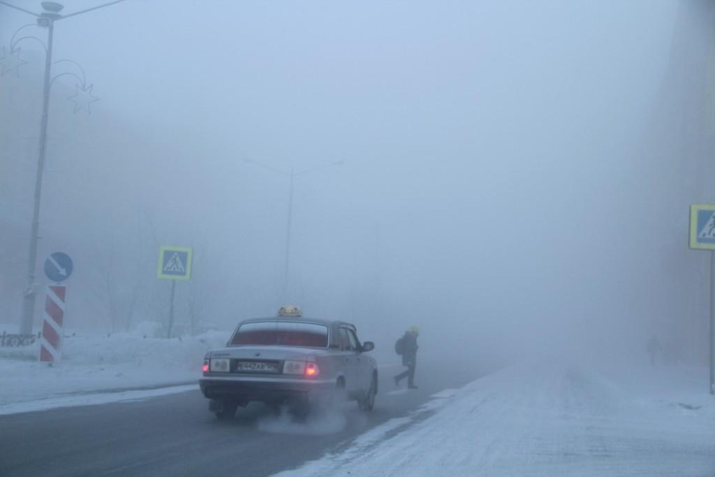 Госавтоинспекторы просят автомобилистов воздержаться от дальних поездок в мороз