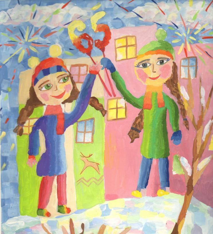 В честь предстоящего юбилея Кайеркана дети приняли участие в творческом конкурсе