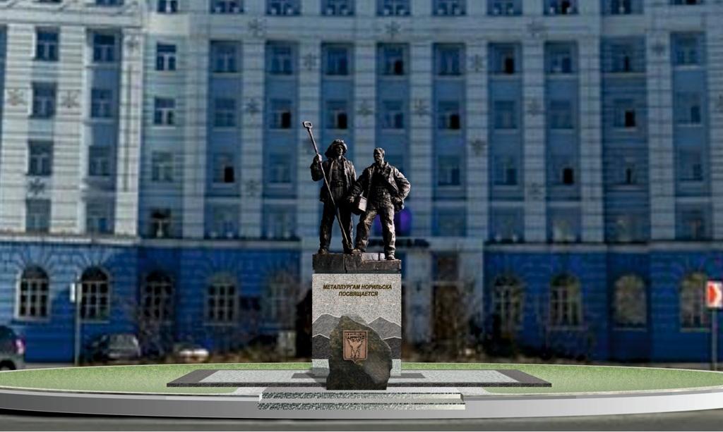 Концепцию монумента «Металлургам Норильска» обсудили на Градостроительном совете