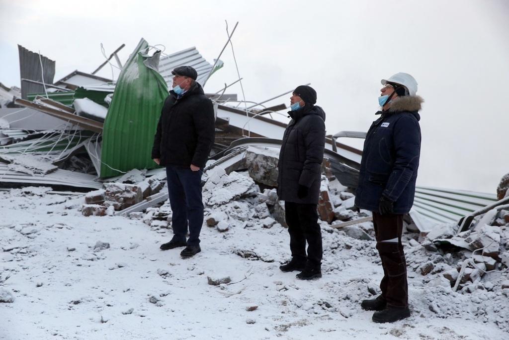 Председатель Заксобрания края Дмитрий Свиридов и глава Норильска Дмитрий Карасев посетили НОФ
