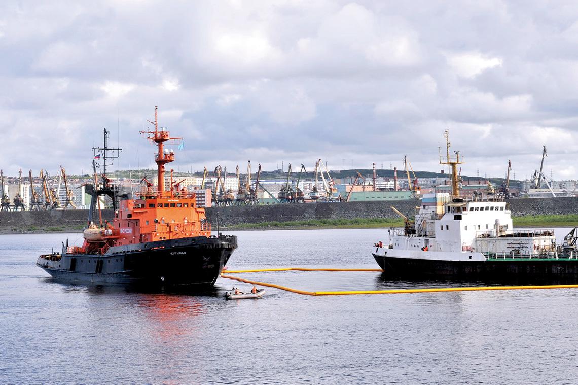 По морским делам в Норильск
