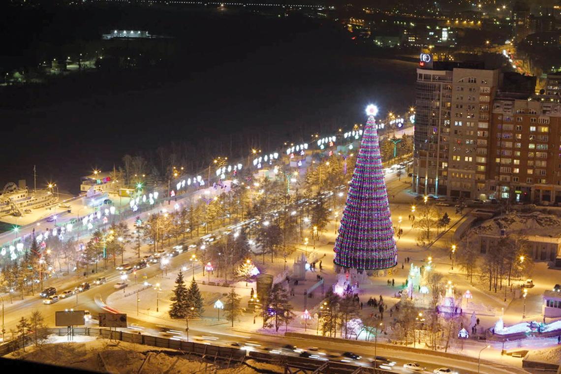 Как празднуют новый год в разных городах мира?
