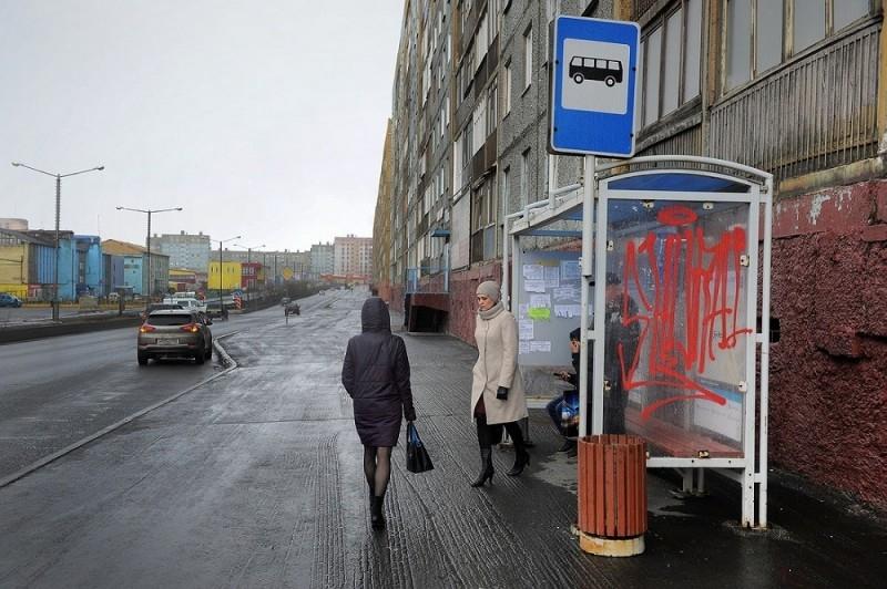 Автобусные павильоны привели в порядок
