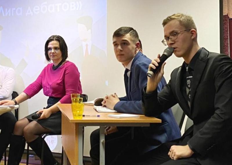 В Норильске прошли молодёжные дебаты