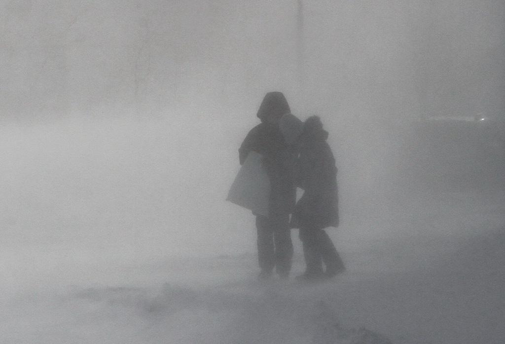 В Норильске объявлено штормовое предупреждение