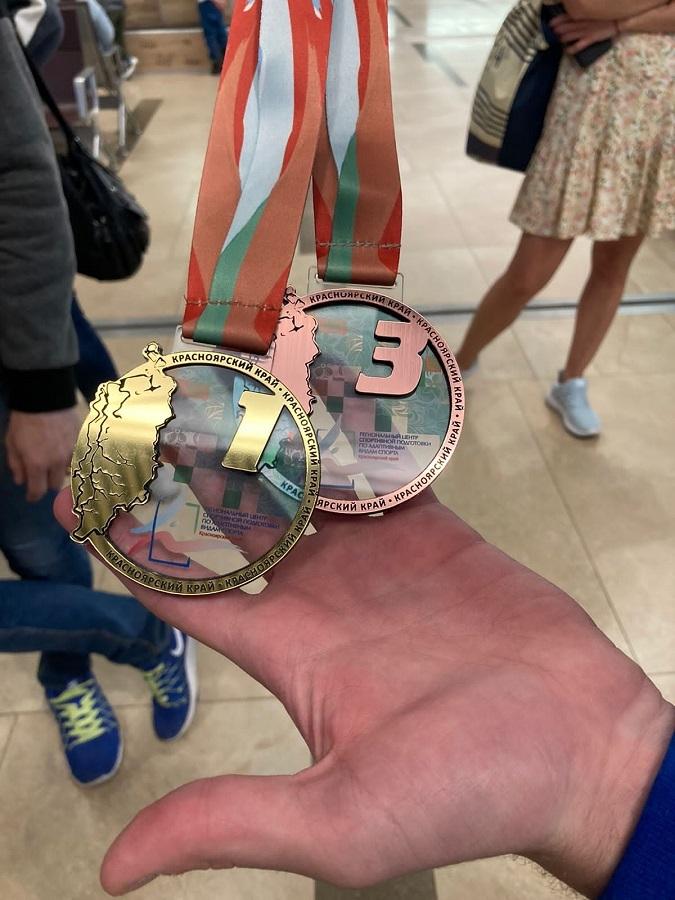 Норильские спортсмены привезли сразу четыре медали с чемпионата Красноярского края по спорту глухих