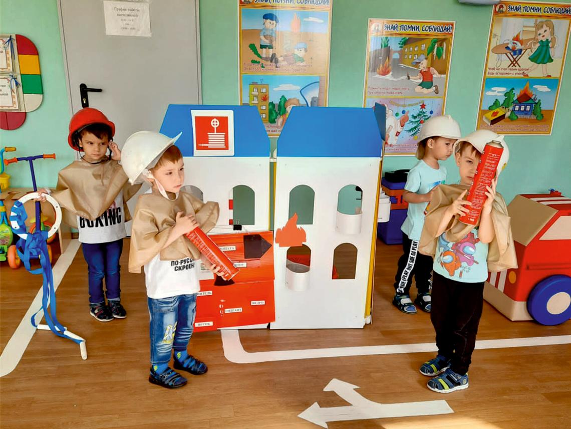 В детском саду «Тундровичок» точно знают, что спички детям не игрушки.