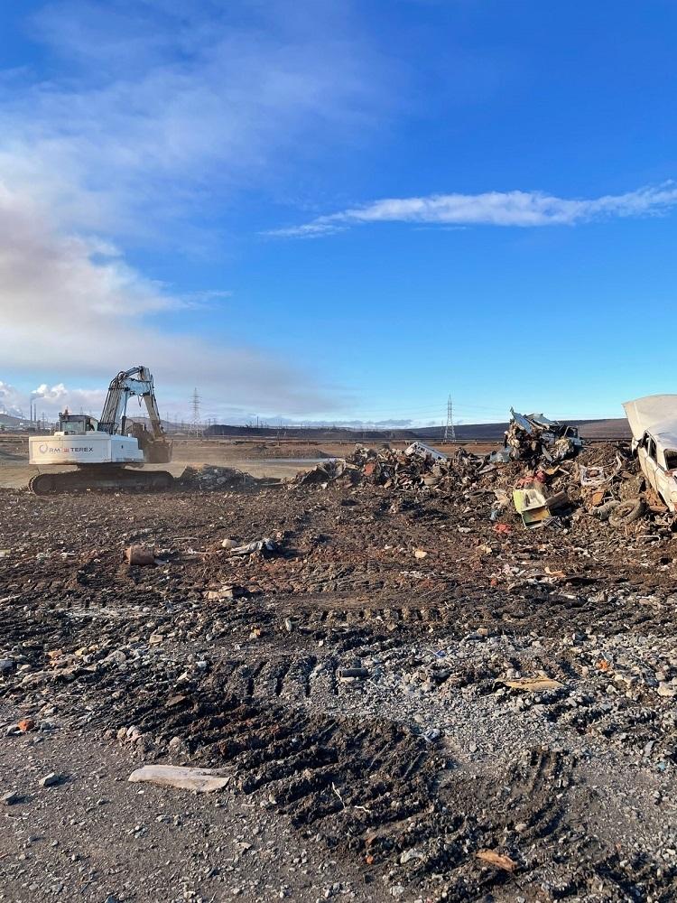 В Норильске завершается ликвидация несанкционированных свалок: в этом году очистят территорию в 10 га