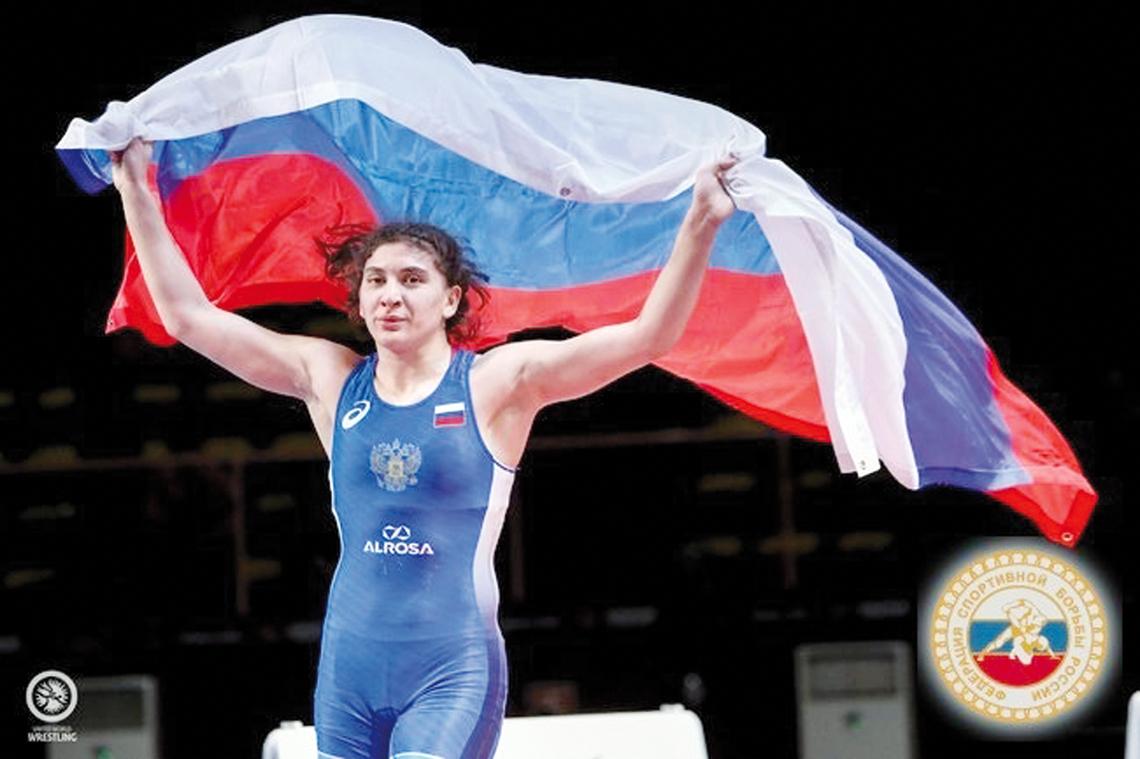 Спортсменка из Красноярска Ханум Велиева завоевала олимпийскую лицензию для России