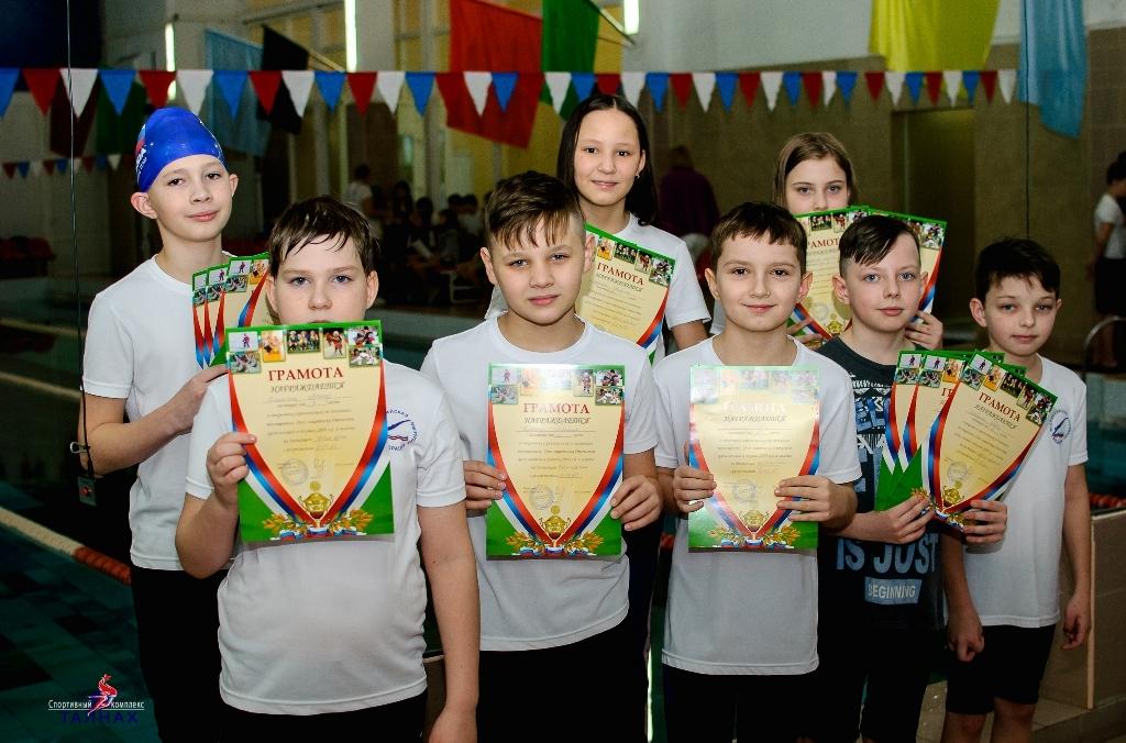 В Талнахе прошли открытые соревнования по плаванию