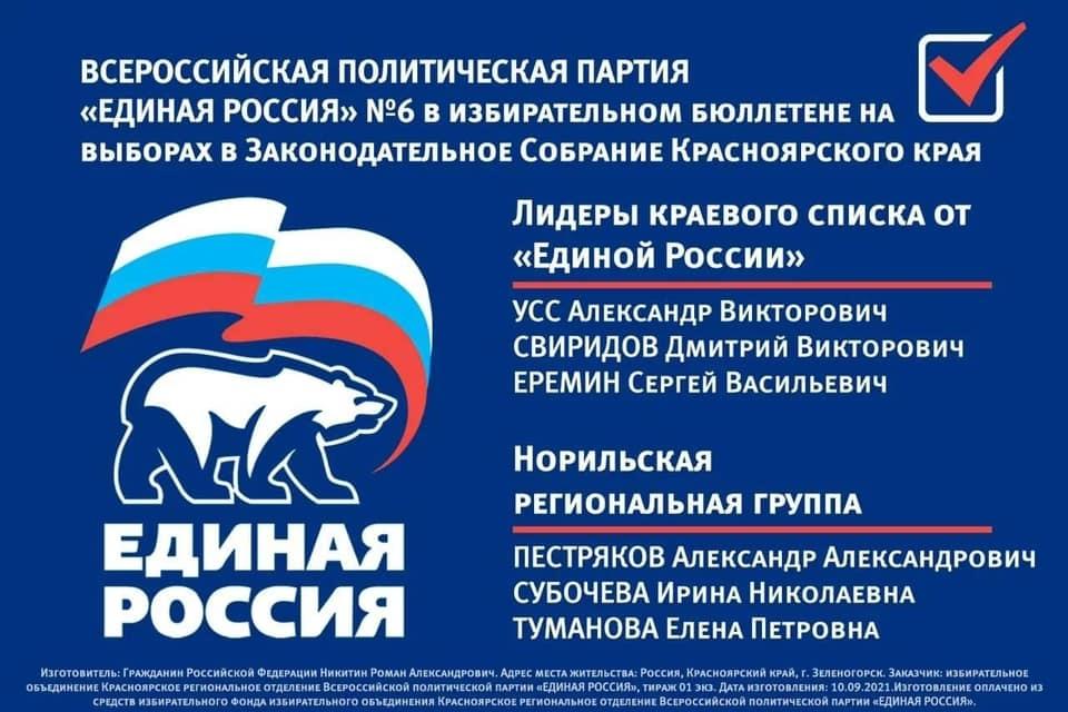 Александр Пестряков поблагодарил норильчан за активное участие в прошедших выборах