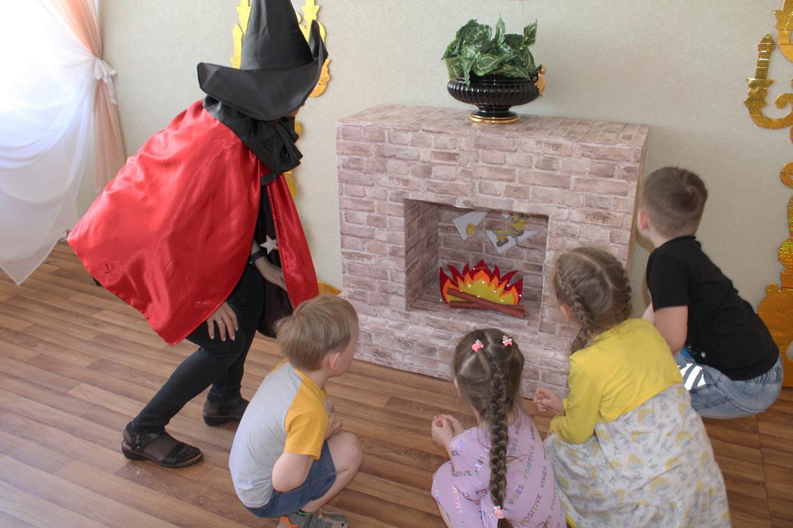 В «Родничке» устроили квест «Юные пожарные, или Играем, правила пожарной безопасности запоминаем»