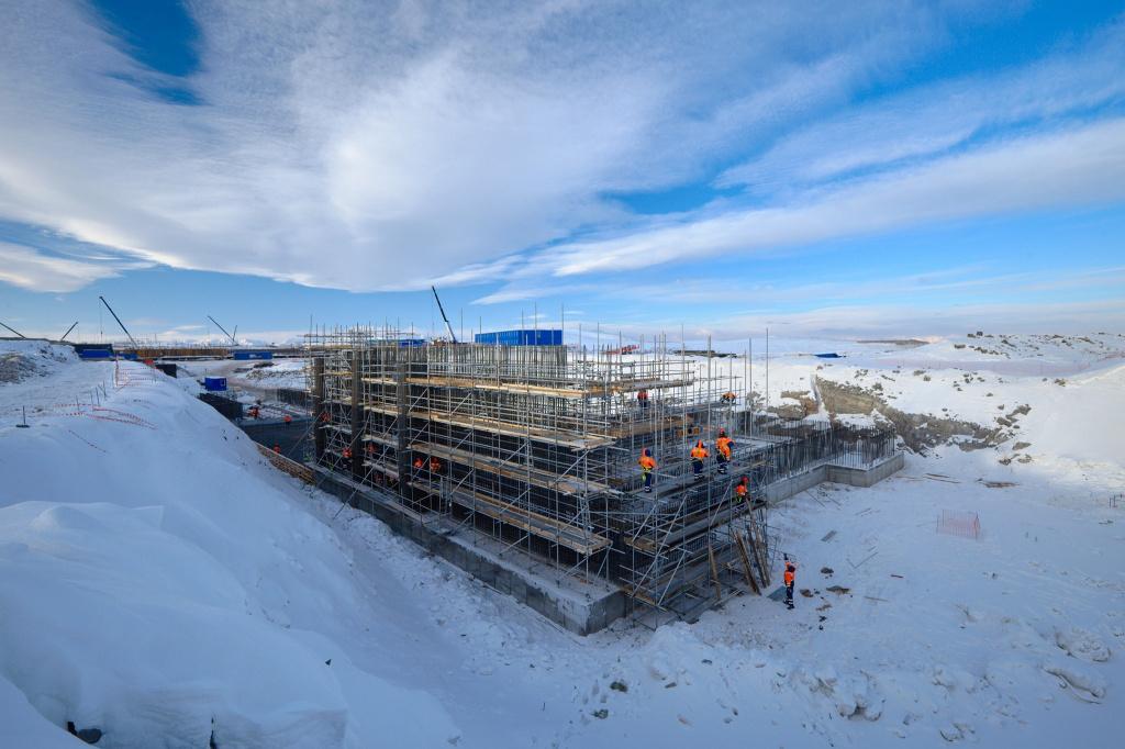 Построен первый корпус ГМК на Удокане в Забайкальском крае