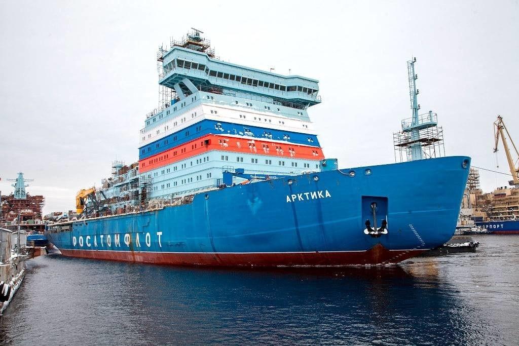 На балтийском заводе будут построены ещё четыре ледокола проекта 22220