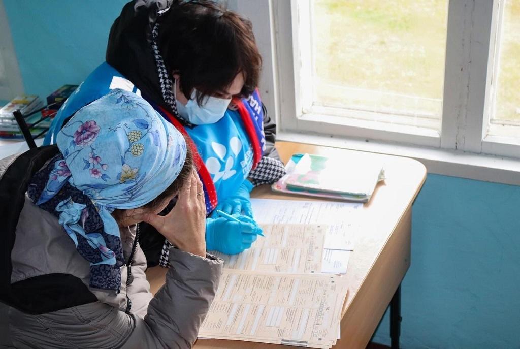 В труднодоступных населённых пунктах Красноярья началась перепись населения